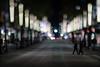 Vancouver City Night Lights (Jovan Jimenez) Tags: vancouver city night lights street bokeh canon eos m3 nikkor 50mm f12 manual lens vintage nikon mirrorless dof kipon adapter tilftshift tilt shift