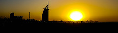 Burj Al Arab Sunset (h9rv_d) Tags: burjalarab dubai uae unitedarabemirates hotel views sights sightseeing travel travelling travelphotography holiday middleeast