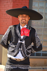 Ready to dance (radargeek) Tags: 2016 fiestasdelasamericas oklahomacity oklahoma capitolhill sombrero hat dancer traditional