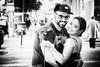 L.O.V.E. - Postcards From Budapest (Aleksandar M. Knezevic Photography) Tags: love couple budapest hungary flower smile life loving bw monochrome bwphoto balckwhite