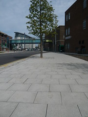 St Mary`s Way, Sunderland (Charcon Commercial Hard Landscaping - Spec Team) Tags: charcon appalachian flag paving sunderland public realm path grey granite