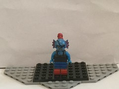 Lego Custom: Undyne (Regular Clothing) (Undertale) (Captain Crafter) Tags: lego memes meme custom undyne undertale hero heroes game games videogame videogames undying alphys playstation indie