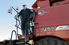 Combine commander (NetAgra) Tags: combine corn harvest farm agriculture wisconsin maize red caseih fall autumn