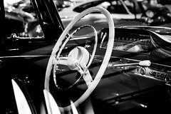 B&W (Jeannette Maandag) Tags: car reflectie zwartwit oldcar contrast mercedes