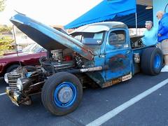 1949 International Pickup (splattergraphics) Tags: 1949 international pickup truck custom ratrod patina hotrod carshow cruisinoceancity oceancitymd
