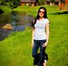 Mirjam (tarmoerik) Tags: portrait girl beatiful vacation sunglasses beauty