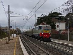 E656 001 (nlovato96) Tags: e656 001 caimano fs fondazione trenitalia treno storico mercatini lecco trento natale sonderzug historical train 96329 castelnuovo