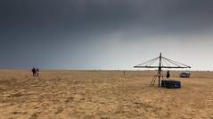 Cloudy day, Marina beach