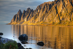 Okshornen in Autumn (hapulcu) Tags: arctic norge noruega norvege norvegia norway norwegen okshornen senja troms automne autumn autunno herbst høst toamna