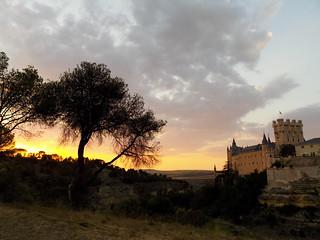 Anochece en el Alcázar