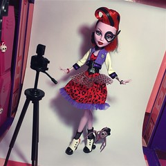 Operetta - Picture Day (Wave 2, 2013) (MyMonsterHighWorld) Tags: monster high picture day mattel doll operetta memphis daddy o longlegs 2013