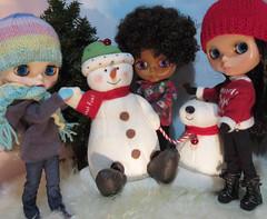BaD 6 December 2018: The Snowman (jefalump) Tags: takarablythe snowman snow lovemission winter hallmark snowdog