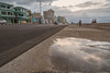 Puddle Reflection at Sunset (Hattifnattar) Tags: havana cuba puddle reflection sunset pentax dfa2470mm malecón