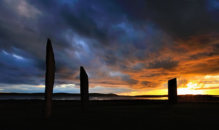 Stenness silhouette