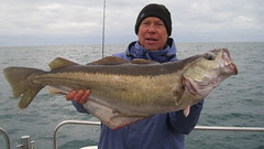 "Mike Hansell's new club record 18lb 4ozs Pollack. • <a style=""font-size:0.8em;"" href=""http://www.flickr.com/photos/113772263@N05/38955126231/"" target=""_blank"">View on Flickr</a>"