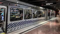 The T - Metro Light Rail Train - Pittsburgh PA (mbell1975) Tags: pittsburgh pennsylvania unitedstates us the t metro light rail train pa penn penna subway station underground ubahn tram lightrail bahn
