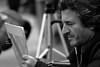 Ritratti (carlo612001) Tags: art portraitist street man portrait uomo ritrattista strada arte titratto bw bn bianco nero biancoenero black white blackandwhite
