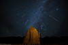 Geminids over Temple of the Moon (Bill Bowman) Tags: geminidmeteorshower templeofthemoon capitolreefnationalpark cathedralvalley night nightsky utah