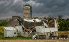 Too Late To Change (henryhintermeister) Tags: barns minnesota oldbarns clouds farming countryliving country sunsets storms sunrises pastures nostalgia skies outdoors seasons field hay silos dairybarns building architecture outdoor winter serene grass landscape plant cloudsstormssunsetssunrises
