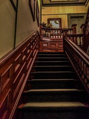 Blomidon_stairwell-1_MaxHDR (old_hippy1948) Tags: stairs