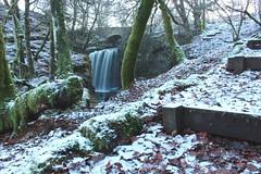 Dalcairney falls (callumadair) Tags: woodland walk path water cold snow winter waterfall