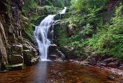 Kamienczyk Waterfall (Gregy_Ro) Tags: poland d5100