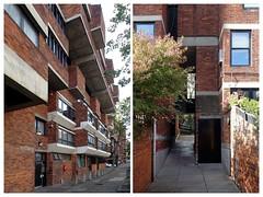Lillington Garden, Housing, Pimlico, London 10&9 (Iqbal Aalam) Tags: london pimlico councilhousing darbourneanddarke competitionwinner gradeiilisted conservationarea