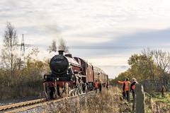 West Yorkshire Steam (3) (4486Merlin) Tags: galatea 45699 england europe exlms lms6p5fjubilee railways southyorkshire steam transport unitedkingdom royston gbr wcrc westyorkshiresteam 50yrs19672017shedbash