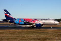 Aeroflot VP-BWE, OSL ENGM Gardermoen (Inger Bjørndal Foss) Tags: vpbwe aeroflot airbus a320 osl engm gardermoen