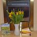 Get well flowers! (Janet 59) Tags: getwellflowers yellowroses purpleirises flowers