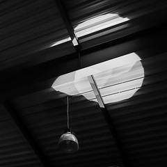 loneliness of the lamp (ignacy50.pl) Tags: minimal minimalism minimalart blackandwhite industrial indoor floor spotlight light lamp monochrome ignacy50