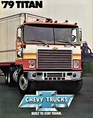 1979 Chevrolet Titan C.O.E. Truck (aldenjewell) Tags: 1979 chevrolet titan coe truck brochure