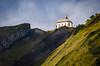 Klimsenkapelle (albisserl) Tags: pilatus klimsenhornjoch hergiswil switzerland klimsenkapelle cantonnidwalden rockface chapel mountain nidwalden schweiz che