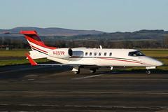 N65TP GLA 29-11-2017 (Plane Buddy) Tags: n65tp lear 40 452084 glasgow