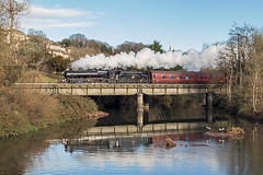 45212 at BoA (Glen Batten) Tags: wcrc rtc steam black5 45212 railboa bradfordonavon railbradfordonavon