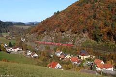 143 810-0 und 143 350-7 in Falkensteig by 143 321-8 - mit Rb 17267 von Freiburg(Breisgau) Hbf nach Seebrugg - 30.10.16