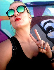 ✌️ (lana nonstop) Tags: photography photographer artist art artwork artlife originalsonly original selfportrait portrait miami wynwood artbasel style peace