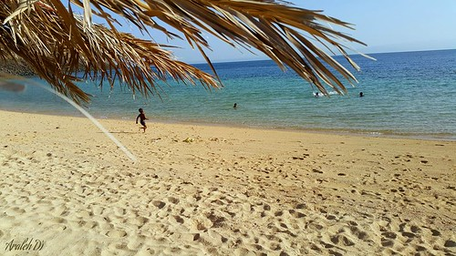 Sables Blancs beach