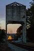 Dusk at Newnan (Kyle Yunker) Tags: csx ge ac4400cw ac44cw coal tower newnan train