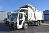 Mack LR613 Front Loader (Trucks, Buses, & Trains by granitefan713) Tags: mack macktruck newtruck trucktoberfest mackcustomercenter testtrack coe cabover lr613 macklr613 frontloader refusetruck trashtruck heil