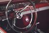 Fairlane GT Wheel (Hi-Fi Fotos) Tags: ford fairlane gt interior steeringwheel dash cabin cockpit red chrome vintage american classiccar badge nikkor 1755 28 nikon d7200 dx hififotos hallewell