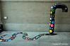 Standpipe Snake 1 (Trish Mayo) Tags: streetart snake standpipe polkadots tombobnyc washingtonheights notrealanimals