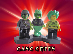 Gang Green (Quickblade22) Tags: supervillains superpowers comics comicbook custom brickforge