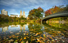 Bow Bridge Central Park 3 (Gary Walters (offline for a bit)) Tags: sony autumn reflections nature foliage sonya7r longexposure nyc water gary walters colors centralpark landscape fall urban bowbridge garywalters urbanlandscape
