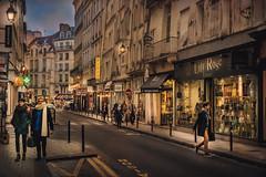 Paris, rue Mazarin