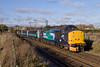 37716 passes Postwick working 2P18 1036 Norwich - Great Yarmouth vice DMU working on Saturday 25/11/2017 (Paul-Green) Tags: class 37 377 37716 37419 postwick 2p18 1036 norwich gt great yarmouth passenger service flickr canon camera drs direct rail services november 2017 uk gb railways norfolk diesel engine loco nice light sun sunny autumn winter morning saturday lchs stock aga abellio greater anglia