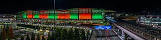 holiday season at the international terminal