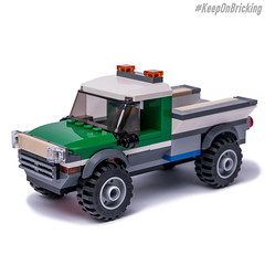 60149 Heavy Duty Truck (KEEP_ON_BRICKING) Tags: lego city legocity moc 60149 alternate model remix remake rebrickable youtube video tutorial howtobuild howtomake awesome heavy duty truck big