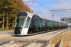 2017-11-02, Luxembourg, Dépôt de Kirchberg (Fototak) Tags: tram strassenbahn luxembourg luxtram caf 106