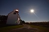 East Point Lighthouse (seanbeebe_photo) Tags: moon moonlight eastpoint lighthouse night nightphotography astrophotography astronomy stars